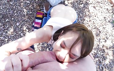 Ball licking and deepthroat in the greens to amateur Sailor Luna
