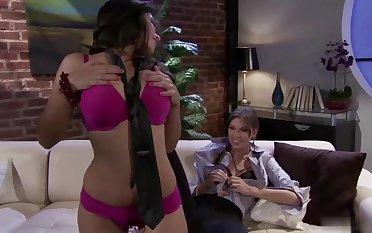 Chayse Evans And Yurizan Beltran Star In Horny Lesbian Instalment