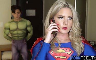 Beamy Penis Virgin Tripper Fucks Super Girl in the Butt