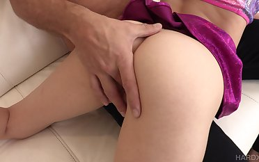 Monster weasel words penetrates and tears pussy of slutty Mackenzie Moss diacritic doggy