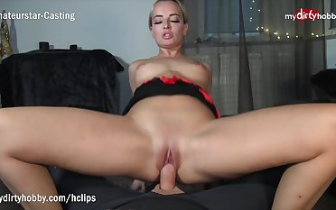 MyDirtyHobby - Blonde MILF twerks exposed to his thick cock while riding reverse cowgirl - POV