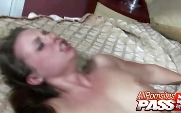 Hannah West Gets A Mouthful Be advisable for Cum - AllPornSitesPass