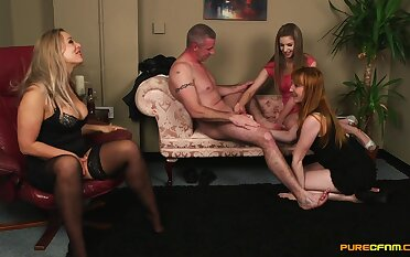 Be subjected to matures down scenes of pert cock sharing CFNM porn