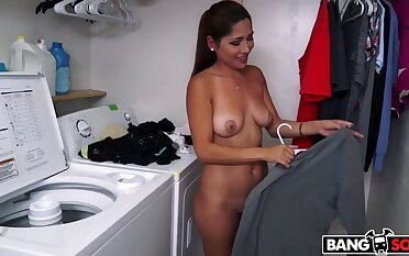 Shy Latina Strips In the buff And Gets Fucked