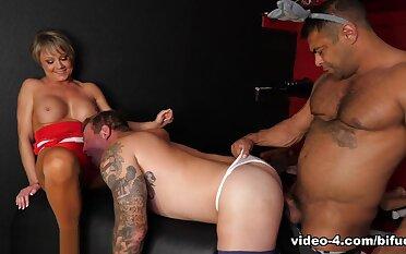 Colby Jansen & Draven Navarro & Jemma Jansen in Night Donkey: Bisexual �bermensch - BiFuck