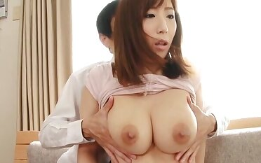Naughty maid Ayana Rina teases with will not hear of ass and gets pleasured