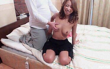 Loved Japanese girl Miku Natsukawa masturbates and gets fucked