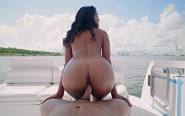 Round ass riding my dick. POV