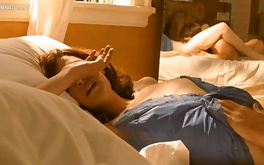 Lauren Lee Smith - Lie with Me nude scene compilation