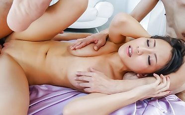 Hottest Japanese chick Ren Azumi in Fabulous JAV uncensored Hardcore scene