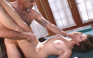 Sexy Wendy James bend over enjoying big cock hardcore