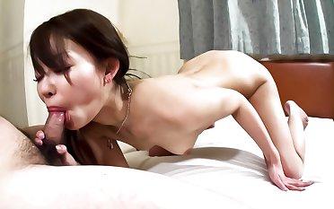 Hottest Japanese girl Yuri Aine in Fabulous JAV uncensored Blowjob scene