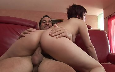 Eating her tasty young pussy and fucking her hard
