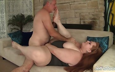 Julie Ann More looks like a real woman and it takes a man to fuck her good