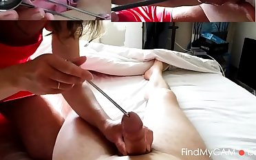 femdom flyer cock large half spoon icecream mistress