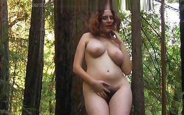 Eleanor's nude dance in the forest