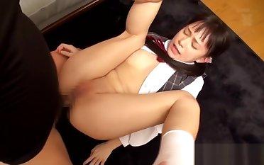 suntanned japanese babe analed