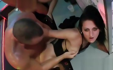 Kinky girls obtain wholly foolish added to naked at hardcore party