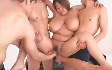 Broad in the beam Boob Asian Girlfriend Screwing Sex Knick-knack With Erect Nipples