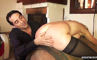 French Porn - Barbara bourgeoise soumise - hard core
