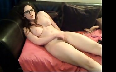 Beautiful Prudish Teen plant her pussy for me