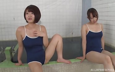 After be imparted to murder lesbian sport time Japanese girls want to share a penis